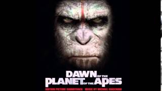 Dawn of The Planet of The Apes Soundtrack - 17. Primates for Life