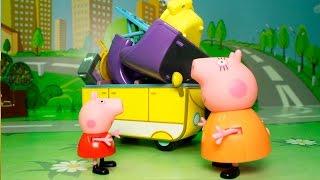 Мультики для детей - Свинка Пеппа на русском новые серии - Мебельный БАБАХ! Мультфильмы для детей!