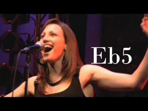 (HD) Natalie Weiss Live Vocal Range (2007-2013):C3-D6