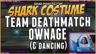 Shark Costume Call of Duty TDM Ownage (Bonus: Shark Dance!)