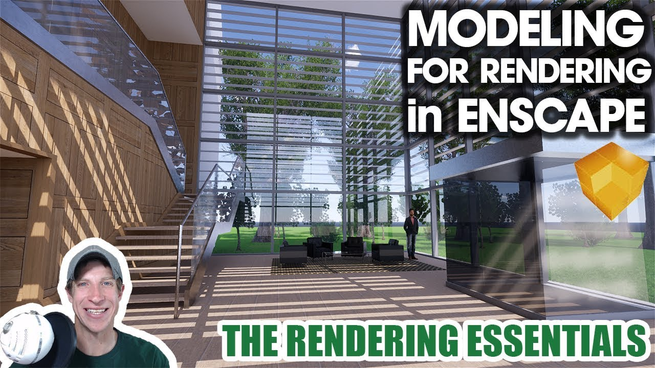 MODELING FOR RENDERING - The Gallery - Plants and Objects for Enscape  Rendering