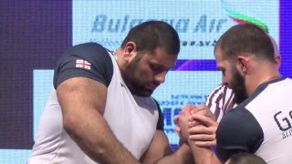 EUROARM 2018 MEN / WOMEN LEFT ARM SEMIFINALS AND FINALS