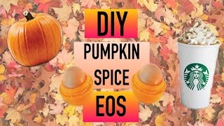 Diy Pumpkin Spice Eos Lip Balm!