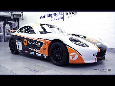 2018 Partnership With Greg Johnson Racing   Staffordshire Car Care   Gyeon Quartz