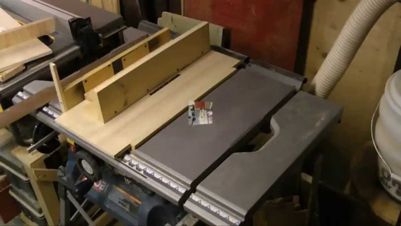 Dado jig for ryobi portable saw table youtube dado jig for ryobi portable saw table greentooth Image collections