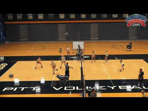 Dan Fisher's Triangle Dig and Set Drill for Volleyball!