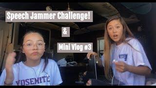 Speech Jammer Challenge!! | Mini Vlog #3