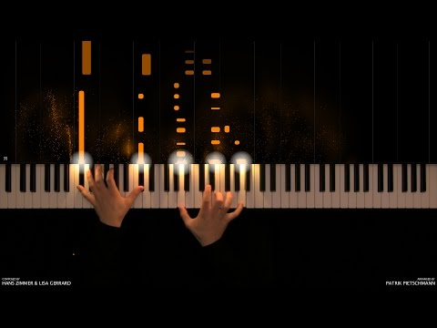 Gladiator - Now We Are Free (Piano Version) + Sheet Music
