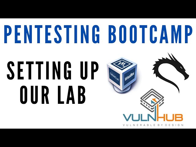 Penetration Testing Bootcamp - Setting Up A Pentesting Lab