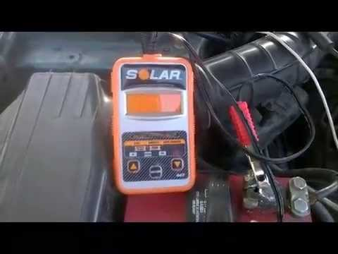 Battery and Alternator Testing