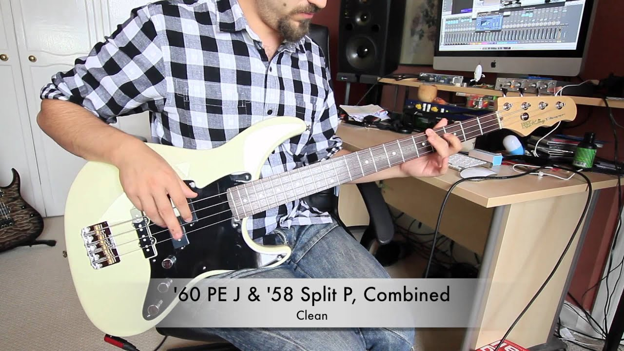 hight resolution of bare knuckle pickups official p j bass pickup demonstration