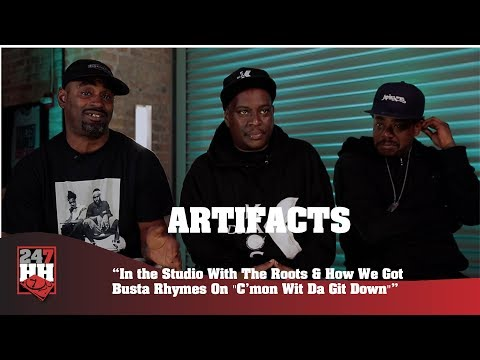 Artifacts - Working w/ The Roots & How Busta Rhymes Got On