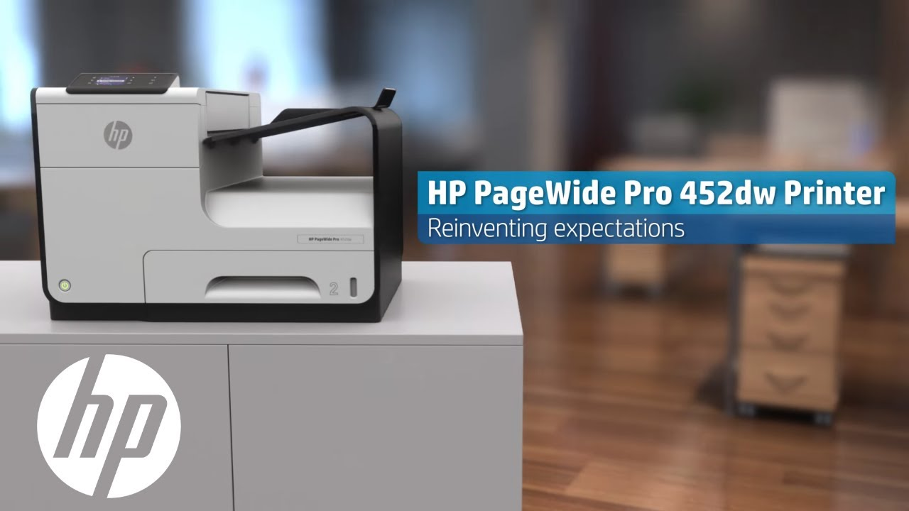 Hp Pagewide Pro Mfp 452dw Product Video Hp Pagewide Hp