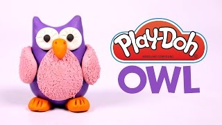 Play Doh Videos, How To Make an Amazing Play Doh Owl, Play Doh Videos For Kids, Silly Kids
