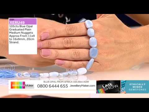 Peacock Pearls for JewelleryMaker LIVE 18/09/2014