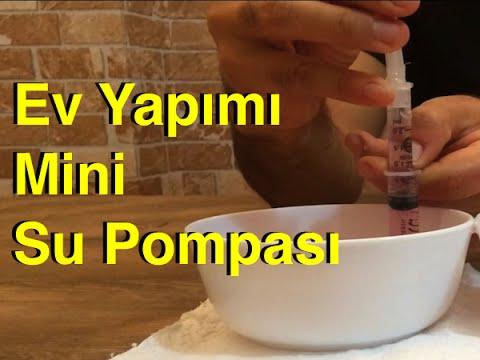 21.video - Ev Yapımı Mini Su Pompası , Kendin Yap , Handmade Water Pump , Diy