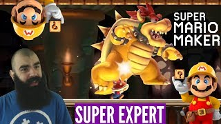 Mulligan Maker | Super Expert No Skips Challenge | Mario Maker [XVIII]