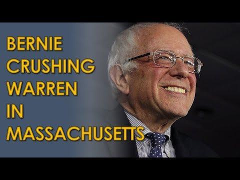 Bernie Sanders is CRUSHING Elizabeth Warren in new Massachusetts Poll