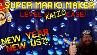 SUPER MARIO MAKER - NEW YEAR NEW US?!  - KAIZO COLLEGE: NEW YEAR NEW U - LEVEL SHOWCASE
