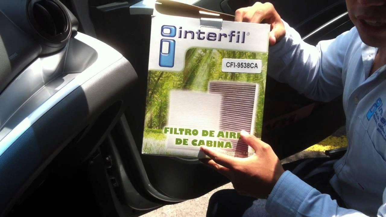 Filtro De Cabina Chevrolet Spark 2011 Youtube