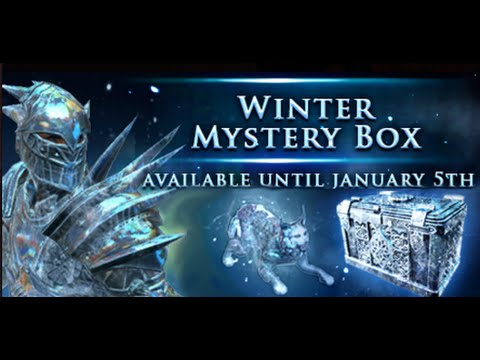 Path of Exile Winter Mystery Boxes! |
