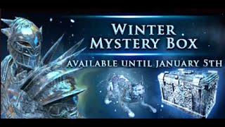 Path of Exile Winter Mystery Boxes!