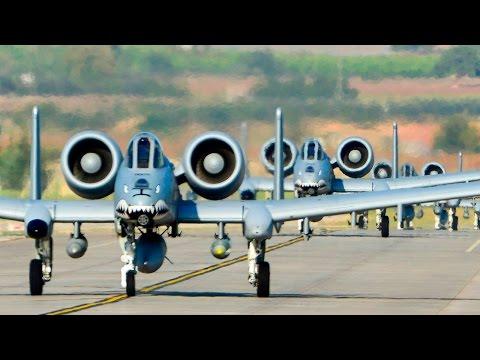 U.S. A-10 Warthogs Landing At Incirlik Air Base In Turkey