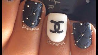 Chanel Nail Art Tutorial