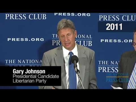 Gary Johnson: Climate Doesn't Matter because the Sun will Burn out in 4 billion years