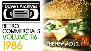Retro Commercials Vol 116 (1986 - 1080p)