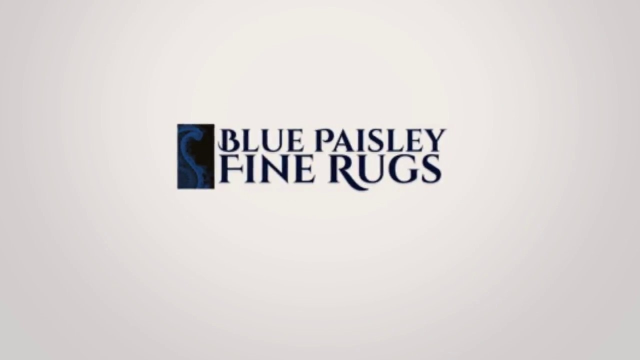 Rugs Rug Cleaning Toronto Blue Paisley
