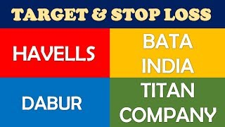 Havells Bata India Dabur Titan Technical Analysis | Multibagger stocks 2019 india for long term