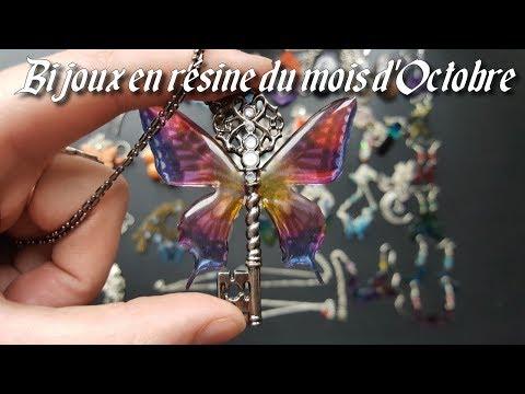 [♥✿ Bijoux en résine du mois d'Octobre ✿♥]
