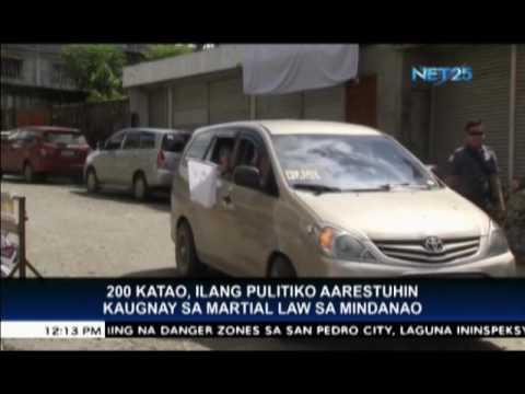 200 katao, nasa arrest order na ipinalabas ni Defense Secretary Lorenzana