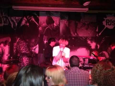Tim Burgess Live at PJ Molloys in Dunfermline, Scotland 1/11/12
