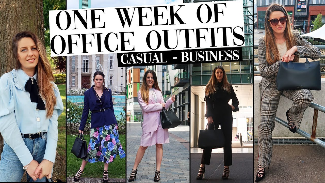 Work Outfits of the Week | Workwear Office Lookbook | Work Outfit Ideas | Business Casual OOTW 1