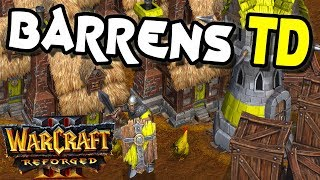 Warcraft 3 Reforged | Custom | Barrens TD