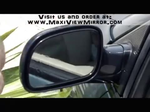Installation Of Maxi View Mirror The Worlds Best Blind