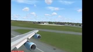 Departure Glasgow - Air Force One - US President