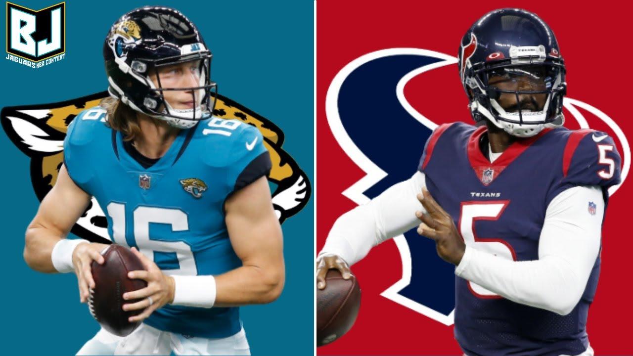 NFL Week 1: Jaguars vs. Texans live blog