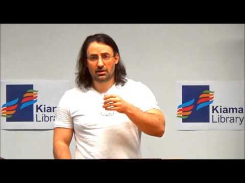 Jim Butcher author talk at Kiama Library