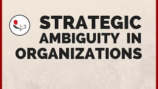 Strategic Ambiguity