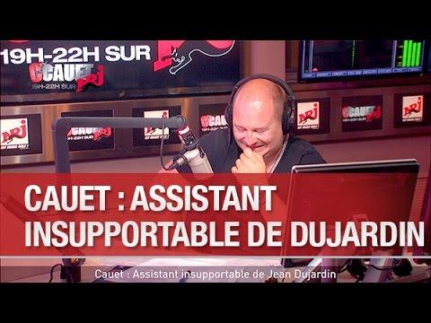 Cauet : Assistant insupportable de Jean Dujardin - C'Cauet sur NRJ
