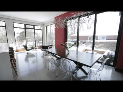 Interior Design — Actor Yannick Bisson's Modern Open-Concept Family Home