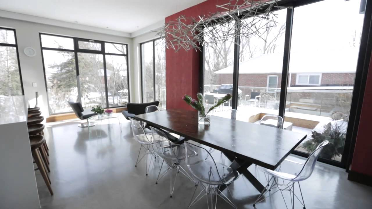 A Home That S Modern Inside And Out: Actor Yannick Bisson's Modern Open