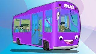 Колеса на автобусе | автобус потешки | Детская рифма | Bus Rhyme For Kids | Wheels On the Bus