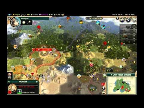 Civilization V Brave New World Deity LP - Poland 1