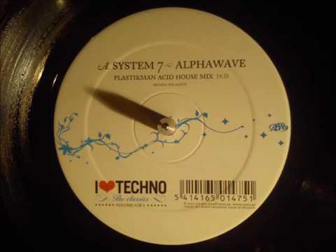 System7 - Alpha Wave  (Plastikman acid house remix) - Original