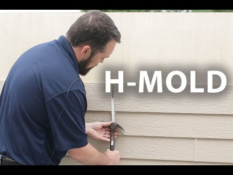 H Mold Purpose And Installation Youtube