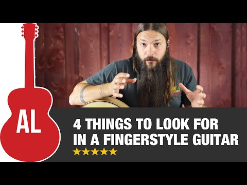 4 Things To Look For in a Fingerstyle Guitar
